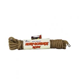100% Natural Hemp Bondage Touw - 5 Meter - Voodoo | PleasureToys.nl