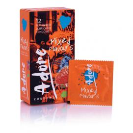 Adore Flavours Condooms - 12 Stuks - Pasante | PleasureToys.nl