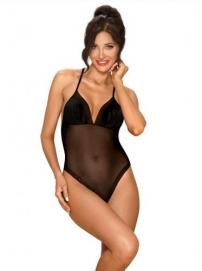 Alifini Transparante Body Met Vleugelprint - Obsessive | PleasureToys.nl