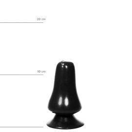 All Black Buttplug 12 cm - All Black | PleasureToys.nl