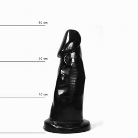 All Black Dildo 29 cm - All Black | PleasureToys.nl