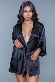 Amora Kimono Met Hart - Be Wicked | PleasureToys.nl