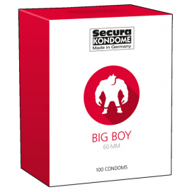 Big Boy Condoms - 100 Stuks - Secura Kondome | PleasureToys.nl
