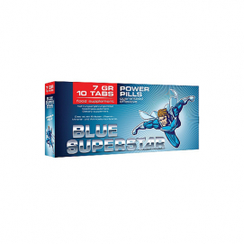 Blue Superstar Erectiepillen - Pharmquests | PleasureToys.nl