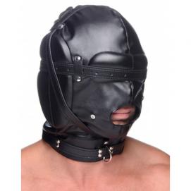Bondage Masker Met Ball Gag Met Gaten - Strict | PleasureToys.nl
