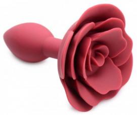 Booty Bloom Siliconen Anaalplug Met Roos - Master Series | PleasureToys.nl