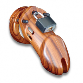 CB-6000 Kuisheidskooi - Wood - CB-X | PleasureToys.nl