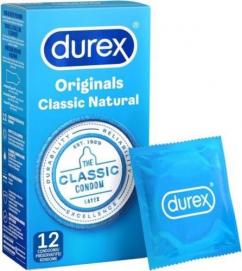 Condooms Durex Classic Natural 12st - Durex   PleasureToys.nl