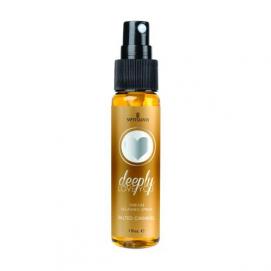 Deeply Love You Throat Relaxing Spray - Salted Caramel - Sensuva | PleasureToys.nl