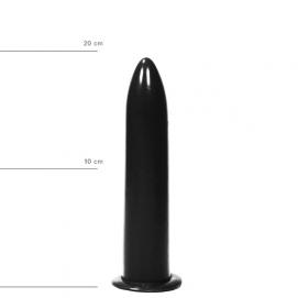 Dildo 20 cm - All Black | PleasureToys.nl