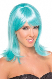 Doll Pruik - Aqua - Be Wicked Wigs | PleasureToys.nl