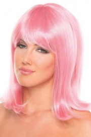 Doll Pruik - Lichtroze - Be Wicked Wigs | PleasureToys.nl