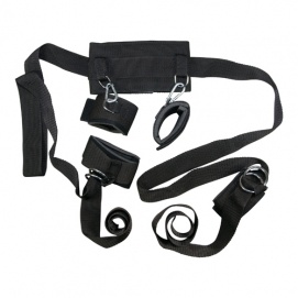 Drie-delig bondage harnas - Bad Kitty | PleasureToys.nl