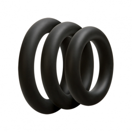 Driedelige cockring set - Dik - OptiMALE | PleasureToys.nl