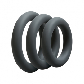 Driedelige Cockring Set - OptiMALE | PleasureToys.nl