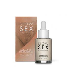 Droge Glinster Olie Voor Huid & Haar - Slow Sex | PleasureToys.nl