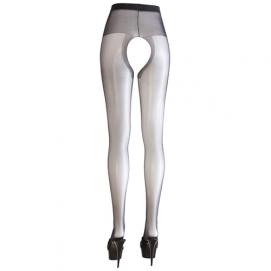 e Panty met open kruis - Cottelli Collection   PleasureToys.nl