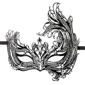 Easytoys Open Venetiaans Masker - Easytoys Fetish Collection | PleasureToys.nl