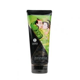 Eetbare massagecrème - peer & groene thee - Shunga | PleasureToys.nl