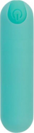 Essential Bullet Vibrator - Turquoise - PowerBullet | PleasureToys.nl