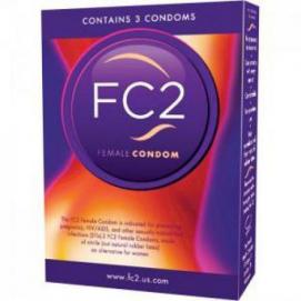FC2 Vrouwen Condooms - 3 st. - Asha International | PleasureToys.nl
