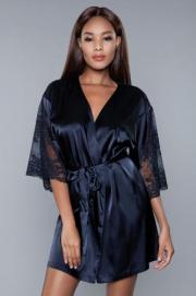 Grace Satijnen Kimono - Be Wicked | PleasureToys.nl