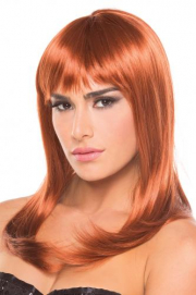 Hollywood Pruik - Kastanjebruin - Be Wicked Wigs | PleasureToys.nl