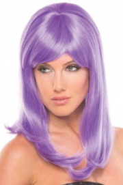 Hollywood Pruik - Lichtpaars - Be Wicked Wigs | PleasureToys.nl