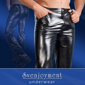 Imitatie-Leren Broek Voor Mannen - Svenjoyment Underwear | PleasureToys.nl