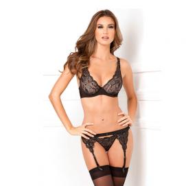 Kanten lingerie set - Rene Rofe   PleasureToys.nl