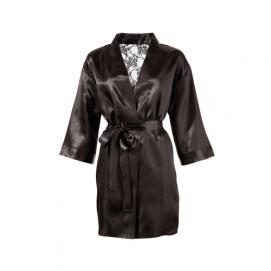 Kimono Met Kanten Achterkant - Cottelli Collection   PleasureToys.nl