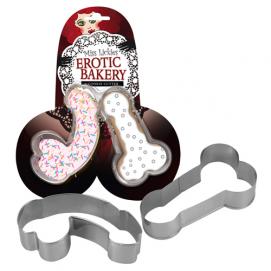 Koekjes Bakvormen Met Penisvorm - 2 Stuks - You2Toys | PleasureToys.nl