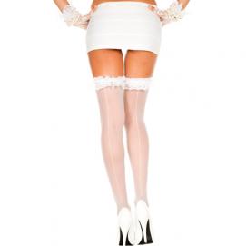 Kousen Met Ruches En Naad - Music Legs | PleasureToys.nl