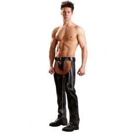 Kunstleren chaps - Svenjoyment Underwear   PleasureToys.nl