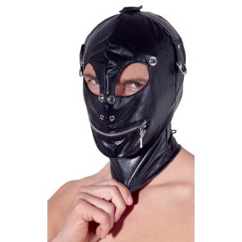 Kunstleren Hoofdmasker - Fetish Collection | PleasureToys.nl