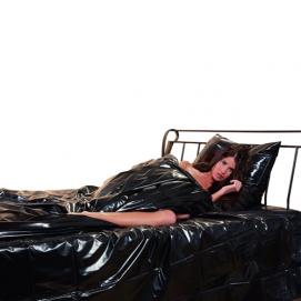 Lak dekbed overtrek zwart - You2Toys | PleasureToys.nl