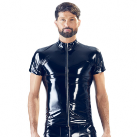 Lak Heren Shirt - Black Level | PleasureToys.nl