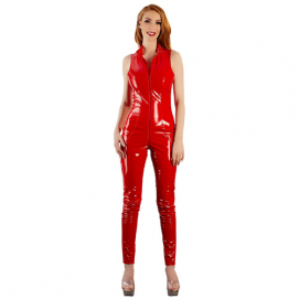 Lak Jumpsuit - Black Level | PleasureToys.nl