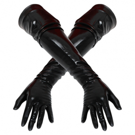 Lange Latex Handschoenen - The Latex Collection | PleasureToys.nl