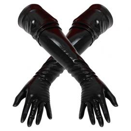 Lange Latex Handschoenen - The Latex Collection | PleasureToys.nl