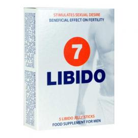 Libido 7 Jelly Sticks - Lustopwekker Voor Man En Vrouw - 5 sachets - Morningstar | PleasureToys.nl