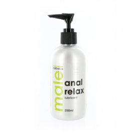 MALE - Anal Relax Lubricant (250ml) - male | PleasureToys.nl