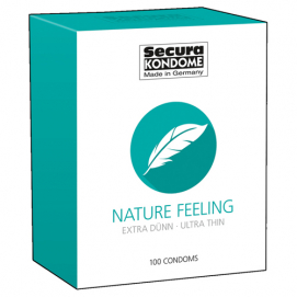 Nature Feeling Condooms - 100 Stuks - Secura Kondome | PleasureToys.nl
