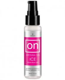 On™ For Her Arousal Gel Ice - 30 ML. - Sensuva | PleasureToys.nl