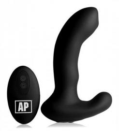 P-Massage Prostaat Vibrator Met Roterende Kraal - Alpha-Pro | PleasureToys.nl