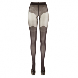 Panty Met Kousen Look - Cottelli Collection   PleasureToys.nl