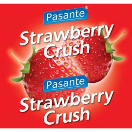 Pasante Aardbei Smaak Condooms - Pasante | PleasureToys.nl