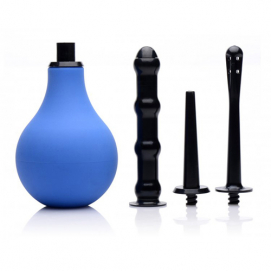 Premium One-way Valve Intieme Douche Set - CleanStream | PleasureToys.nl