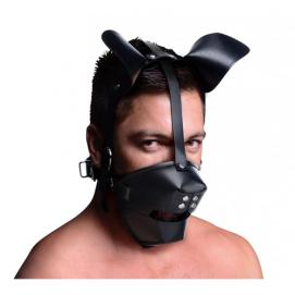 Puppy Play Masker Met Ballgag - Master Series | PleasureToys.nl