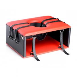 Queening/Kinging Chair - Facesitting Stoel - Strict | PleasureToys.nl